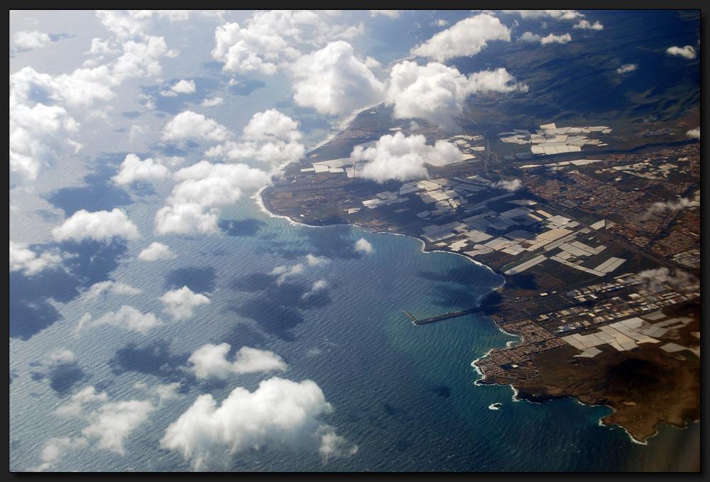 ...Anflug auf Teneriffa...