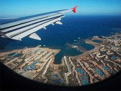 Anflug auf....Hurghada
