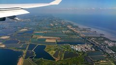 Anflug Bangkok