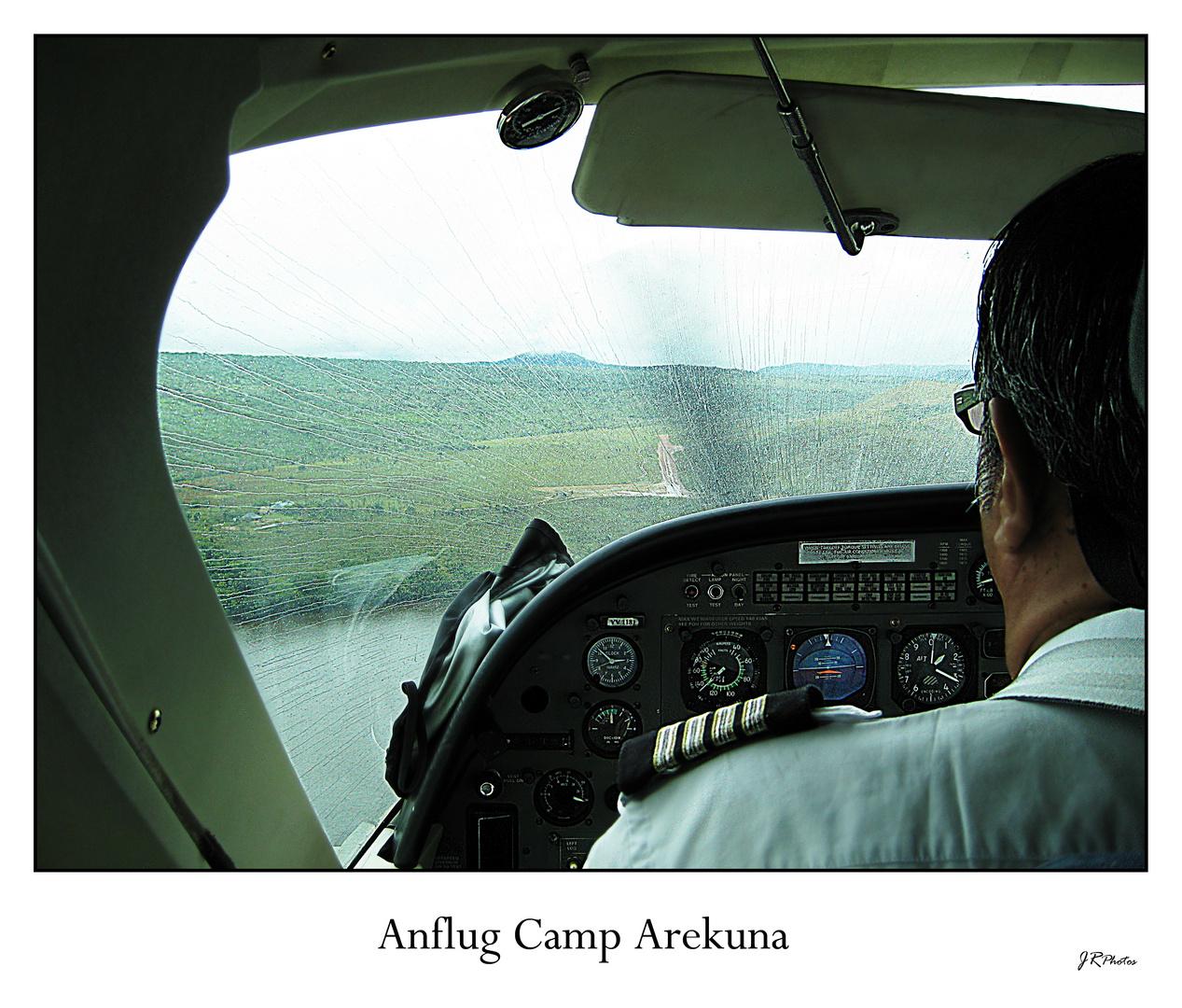 Anflug Camp Arekuna