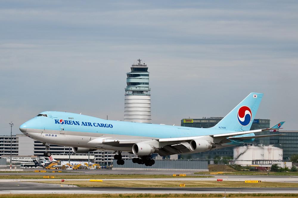 Anflug Korean Air Cargo_1