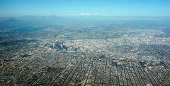 Anflug LAX