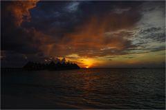 Angaga at Sunset