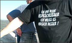 Angeber...