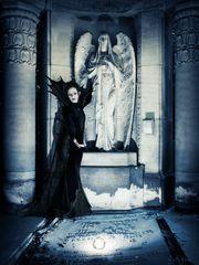 Angel - Black and White