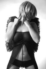 ...Angel in black...