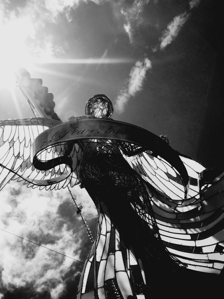 Angel over Brisbane