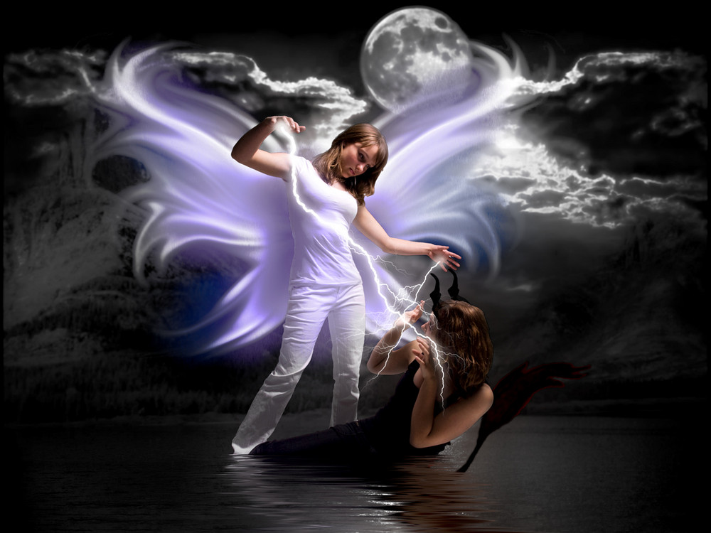 angel wins