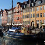 Angelegt in Nyhavn, Kopenhagen