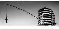 Angelhase am Neckarturm