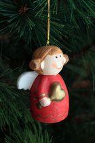 angelote navideño regordete