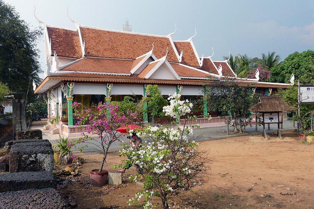 Angkor   moderner Tempel