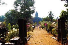 Angkor - Parkanlage zu den Tempeln