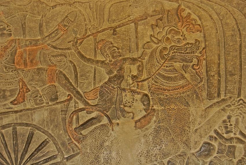 Angkor Vat-Reliefs 5