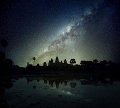 Angkor Wat in den unendlichen Weiten des Universums – ein Traum!