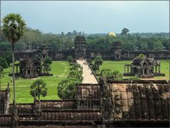 Angkor Wat obere Plattform