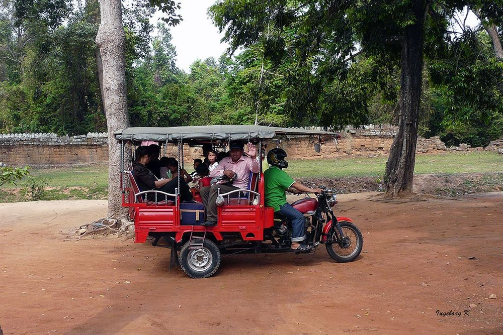 Angkor-Wat -Personentransport