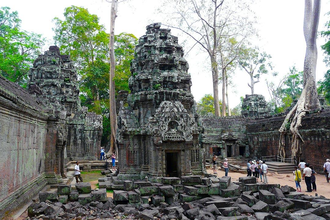 Angkor-Wat - Tempelanlage