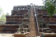Angkor-Wat - Tempelaufgang