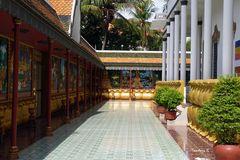 Angkor-Watt  - Gang im Klostergelände