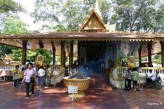 Angkor Watt - Halle  im Klostergarten