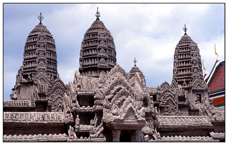 Angkor W(h)at ?! - Wat Phra Kaeo, Bangkok