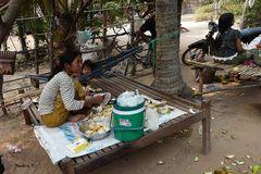 Angkor - Wohnsituation in Angkor