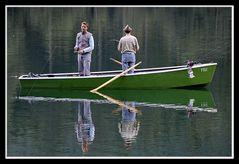 Angler am Hintersee
