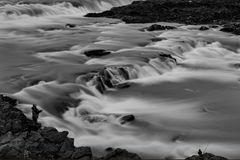 Angler am Urriðafoss