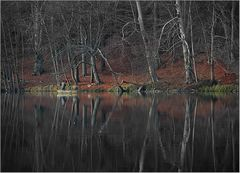 Angler auf dem Huwenowsee