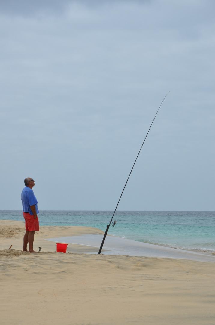 Angler auf Sal