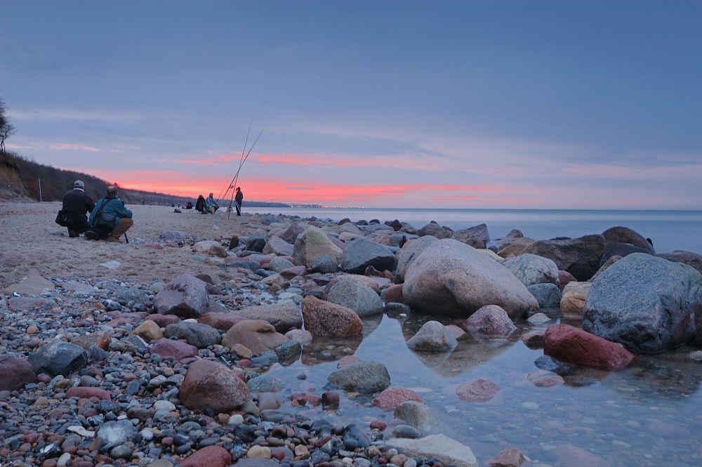 Angler und Fotografen
