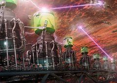 """Angriff auf das Clone-Schiff """"Delta Ecco"""""""