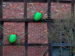 Angriff der grünen Krabbelviecher..? Scheunenviertel in Steinhude am Meer #2