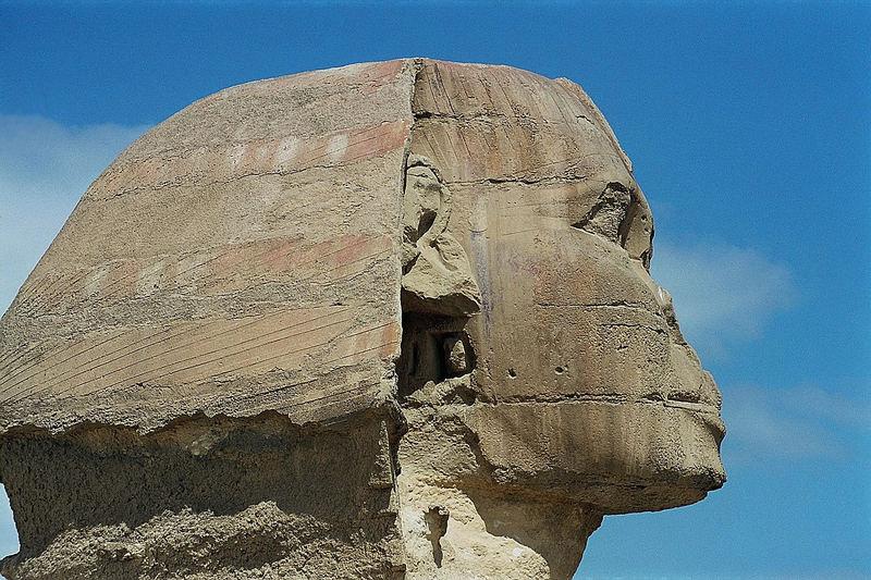 Angst vor dem Blick der Sphinx