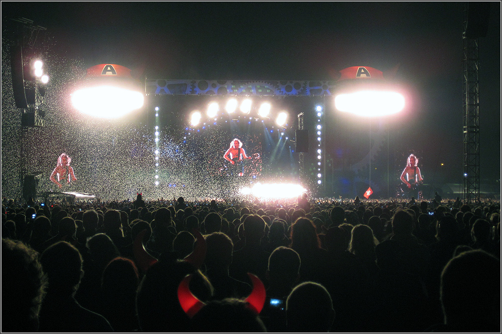 Angus Young in Dresden