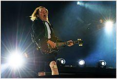 Angus Young vor 90.000 Zuschauern