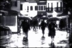 Anime nella pioggia