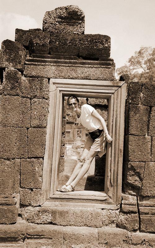 Ankor Wat - Banteay Srei - Eingang zum Tempel