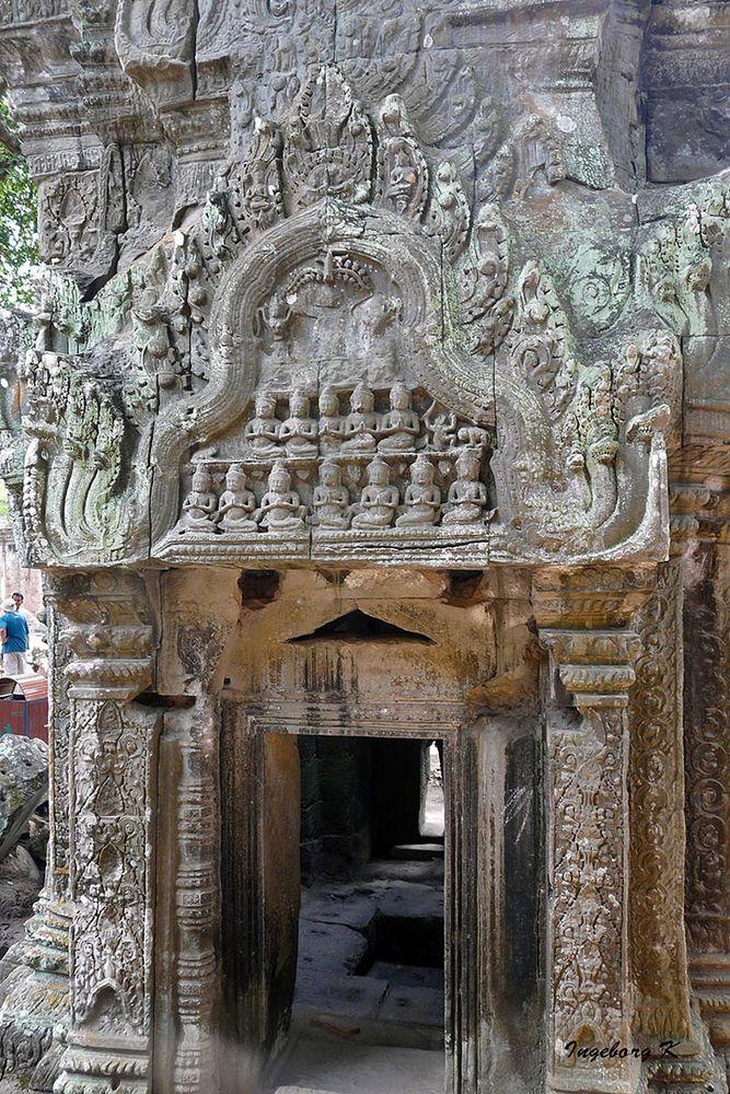 Ankor-Wat - Tempeleingang