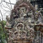Ankor-Wat -Tempelwand
