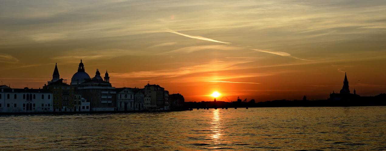 Ankunft auf Giudecca Venezia Sunrise