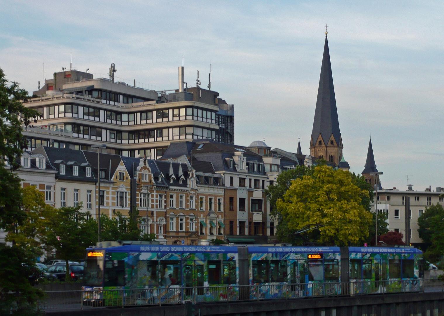 Ankunft Bonn ...