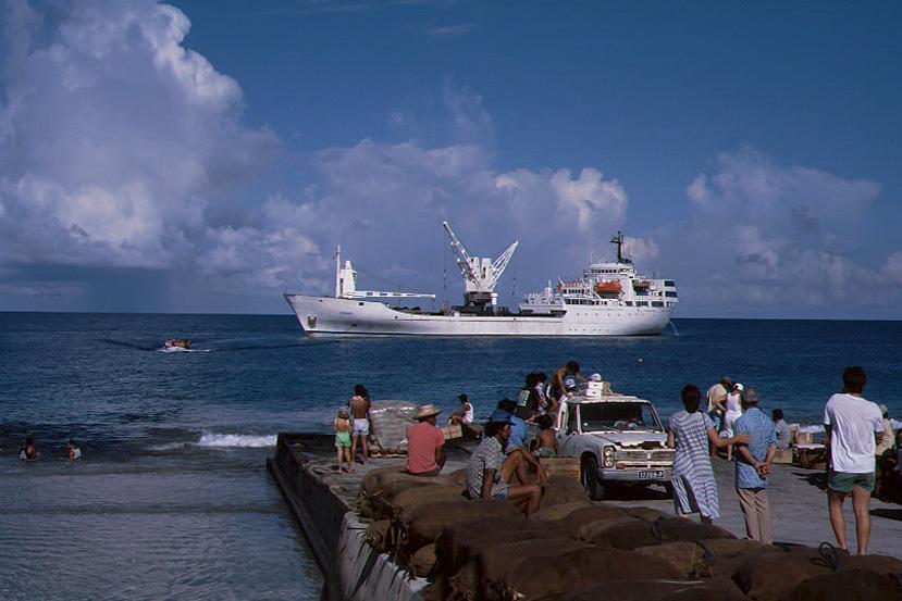 Ankunft der Aranui