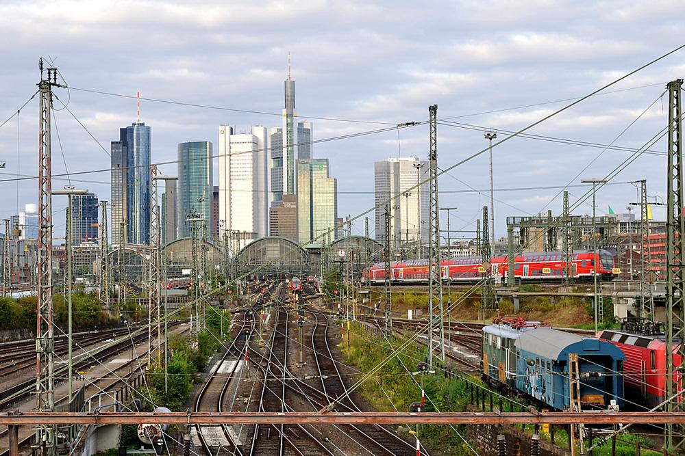 Ankunft Hbf Frankfurt