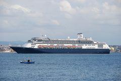 Ankunft im Bosporus