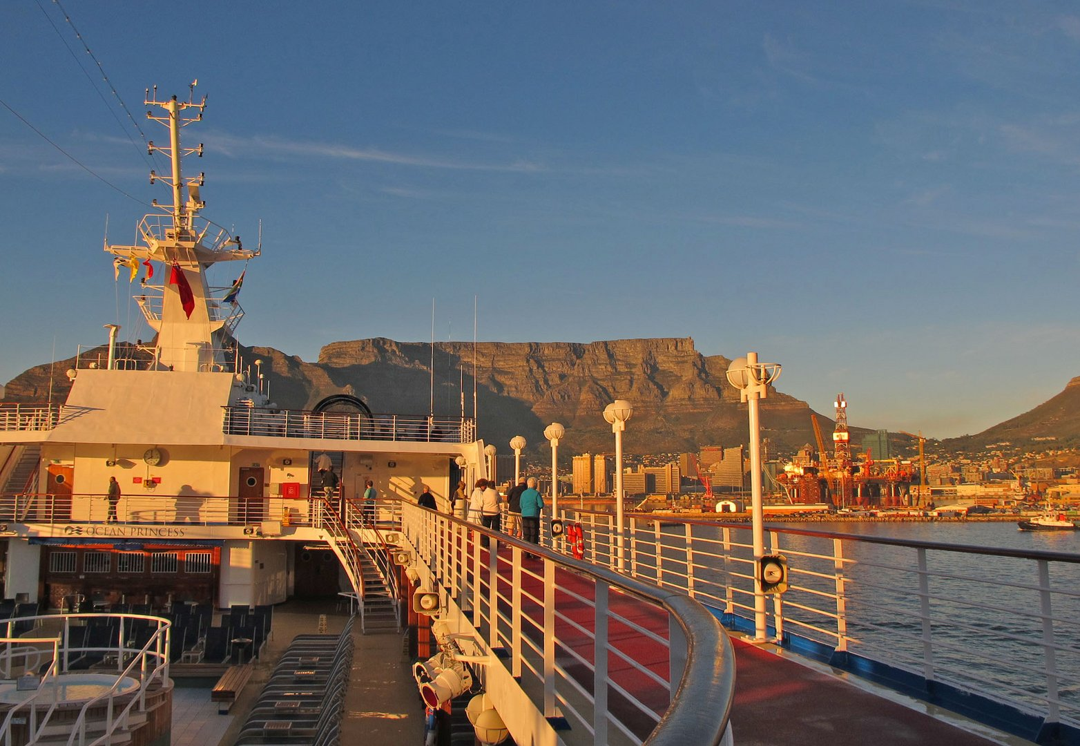Ankunft in Cape Town