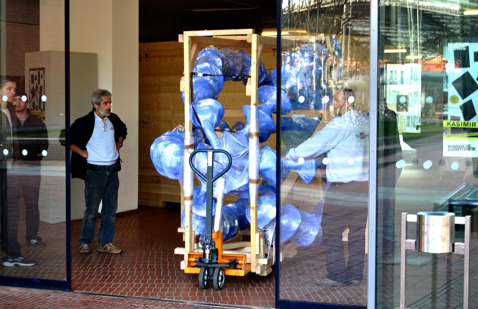 Ankunft moderner Kunst im Museum Ludwig