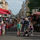 Anlassmarkt in der Favoritner Fußgängerzone