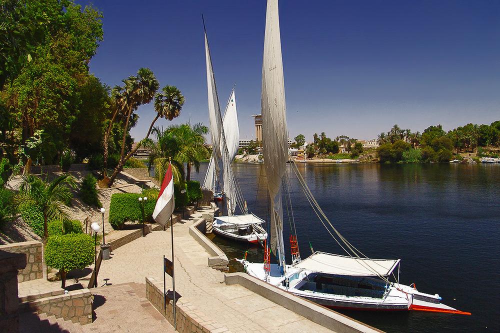 Anleger am Botanischen Garten - Assuan/Ägypten